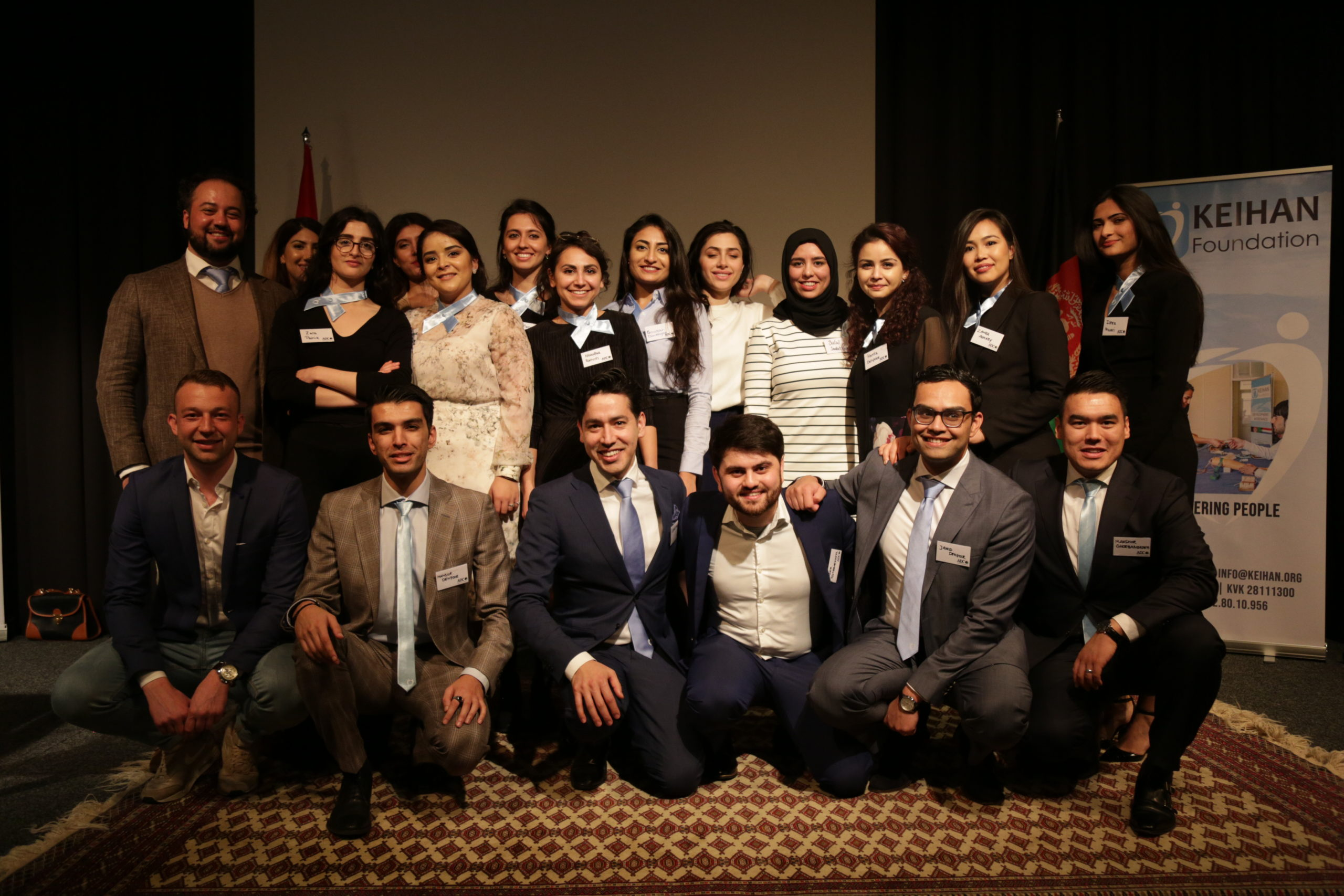 Afghan-Dutch-Conference-2019 KEIHAN Group Picture